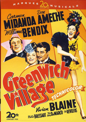 Greenwich Village DVD Movie