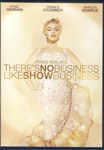 There's No Business Like Show Business (Gold cover) DVD Movie