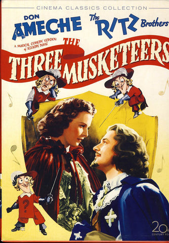 The Three Musketeers (Cinema Classics Collection) (1939) DVD Movie