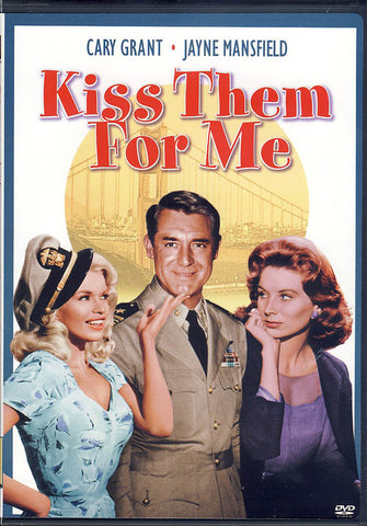 Kiss Them for Me DVD Movie