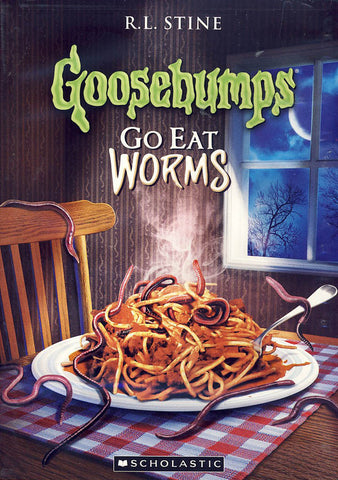 Goosebumps - Go Eat Worms DVD Movie