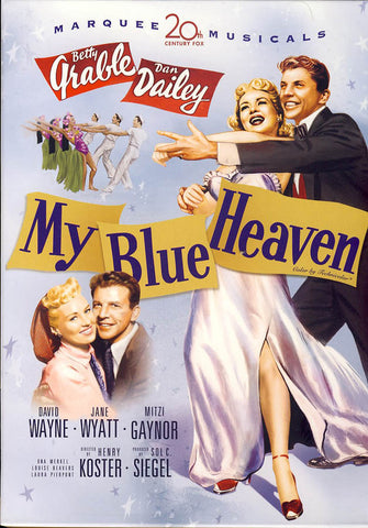 My Blue Heaven (Betty Grable) DVD Movie