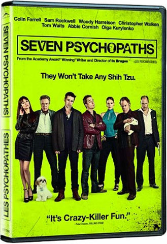 Seven Psychopaths(Bilingual) DVD Movie