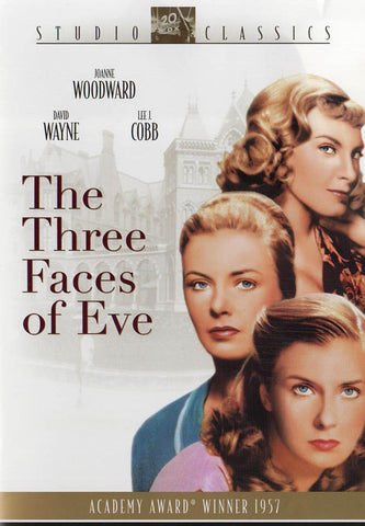 The Three Faces of Eve DVD Movie