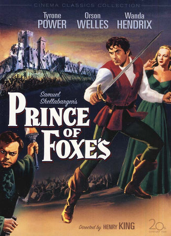 Prince of Foxes DVD Movie