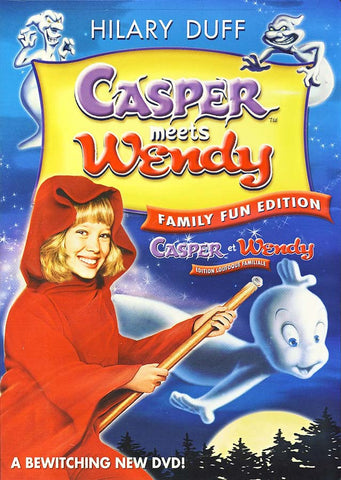 Casper Meets Wendy (Casper et Wendy)(bilingual) DVD Movie