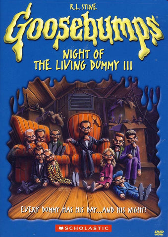Goosebumps - Night of the Living Dummy III DVD Movie