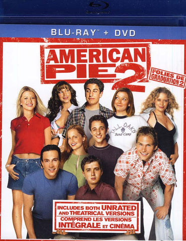 American Pie 2 (Blu-ray + DVD) (Unrated and Theatrical Versions) (Bilingual) (Blu-ray) BLU-RAY Movie