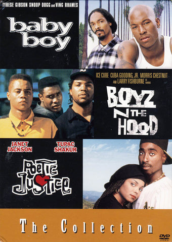 Baby Boy /Boyz 'N the Hood/ Poetic Justice (Boxset) DVD Movie