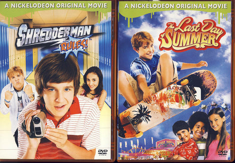 The Last Day of Summer / Shredderman Rules (2 Pack) (Boxset) DVD Movie