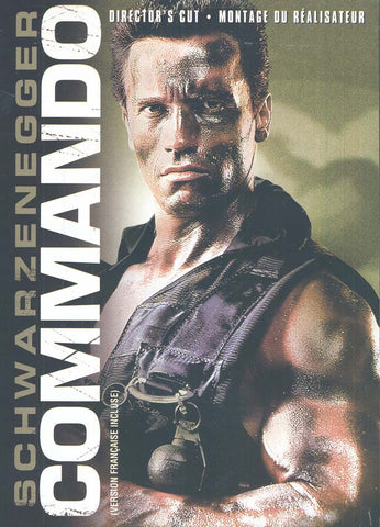 Commando (Director s Cut) (Bilingual) DVD Movie