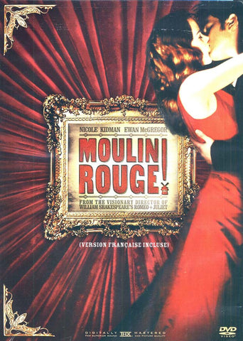 Moulin Rouge !(Nicole Kidman) (Bilingual) DVD Movie