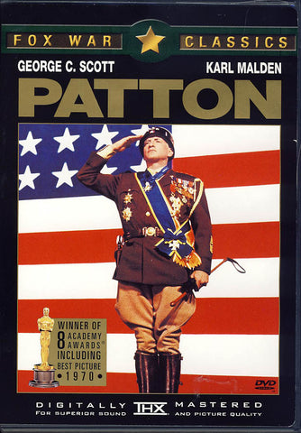 Patton DVD Movie