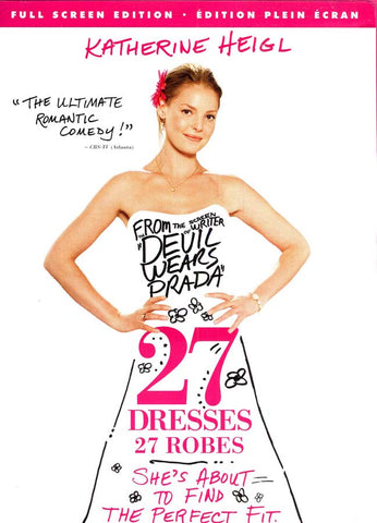 27 Dresses (27 Robes) (Full screen) (Bilingual) DVD Movie