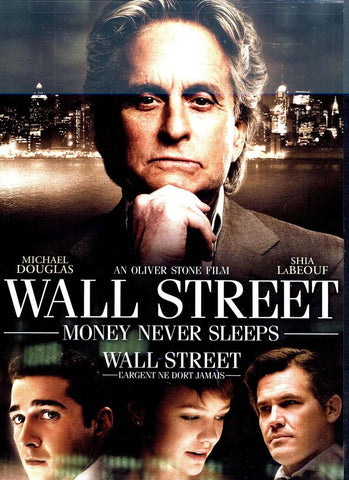 Wall Street - Money Never Sleeps (Bilingual) DVD Movie