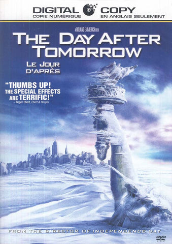 The Day After Tomorrow (Le jour D Apres)(Widescreen With Digital Copy) (Bilingual) DVD Movie