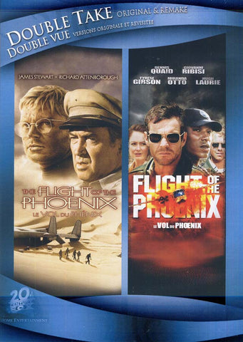 Flight Of The Phoenix (Double Take Original and Remake) (Double Vue Versions Originale et Revisitee) DVD Movie