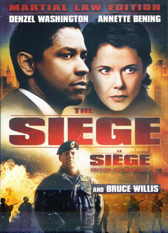 The Siege (Le Siege) (Bilingual) DVD Movie