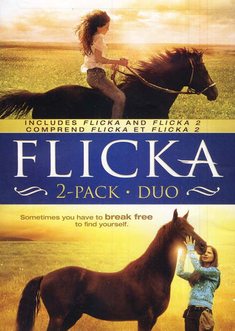 Flicka (2- Pack Duo) (Includes Flicka and Flicka 2)(Comprend Flicka et Flicka 2)(bilingual) DVD Movie