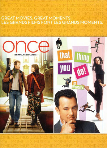 Once/That Thing You Do (Les Wonders) (Bilingual) DVD Movie