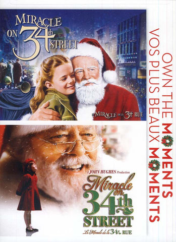 Miracle On 34th Street (1947)/Miracle On 34th Street (1997) (Bilingual) DVD Movie