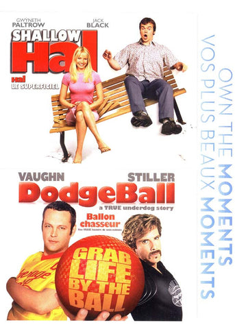 Shallow Hal / Dodgeball (Double Feature) (Bilingual) DVD Movie