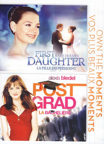First Daughter ( La Fille du President) / Post Grad (La Bacheliere) DVD Movie