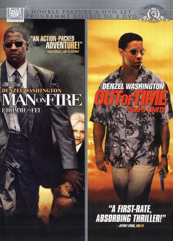 Man On Fire (L Homme en Feu) / Out Of Time (Temps Limite) (Bilingual) DVD Movie