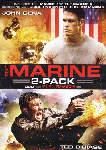Marine (Le Fusilier Marin) 2 Pack Duo (Bilingual) DVD Movie
