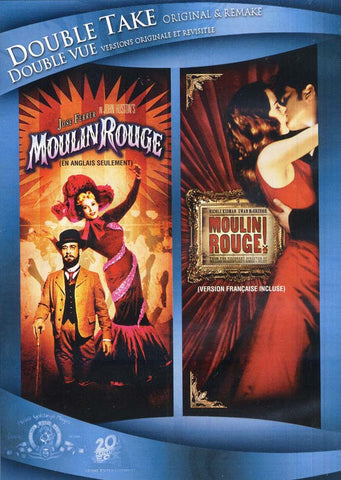 Moulin Rouge (1952/2001)(Double Take Original and Remake)(Double Vue Versions Originale et Revisite) DVD Movie