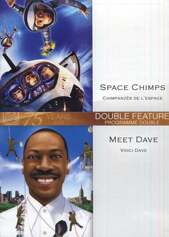 Space Chimps (Chimpanzes de L Espace)/ Meet Dave (Voici Dave) (Double Feature) (Bilingual) DVD Movie