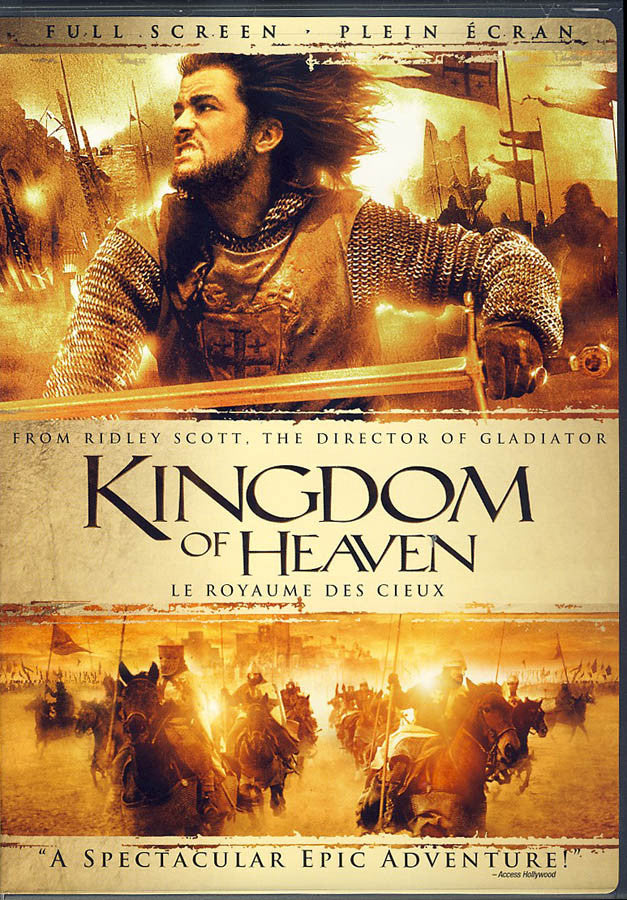This is an image of Stupendous Kingdom of Heaven Dvd Label