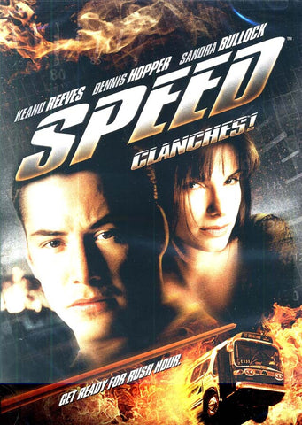 Speed (Clanches) (New Black Cover) (Bilingual) DVD Movie