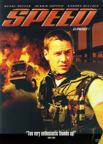 Speed (Clanches) (Old Red/Black Cover) (Bilingual) DVD Movie