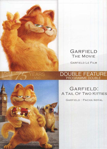 Garfield Movie (Garfield Le Film) / Garfield: A Tale Of Two Kitties (Garfield :Pacha Royal)(bilingua DVD Movie