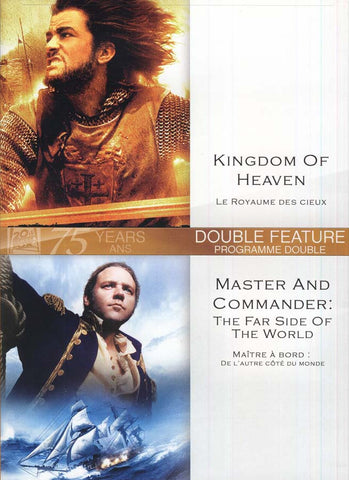 Kingdom Of Heaven (Le Royaume Des Cieux) /Master And Commander:The Far Side of the World (Bilingual) DVD Movie