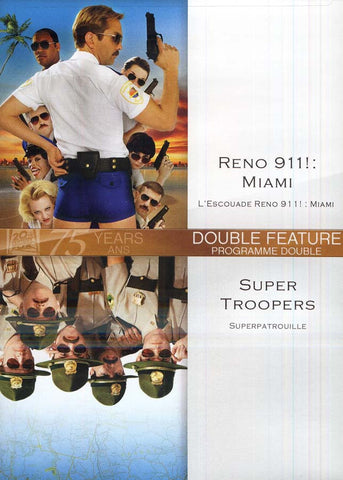Reno 911! :Miami / Super Troopers (Bilingual) DVD Movie