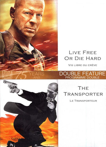 Live Free Or Die Hard (Vis Libre ou Creve) / The Transporter (Le Transporteur) DVD Movie