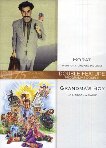 Borat / Grandma s Boy (Le Garcon A Mamie) (Bilingual) DVD Movie