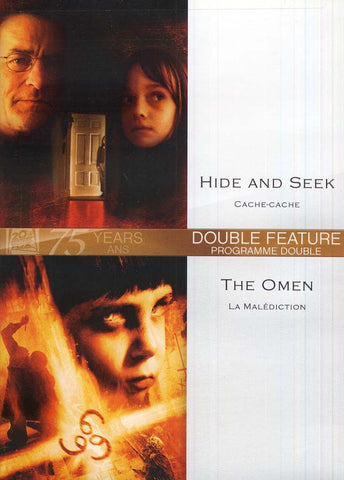 Hide And Seek (Cache-Cache) / The Omen (La Maledicton) DVD Movie