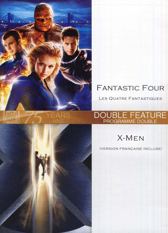 Fantastic Four (Les Quatre Fantastiques) / X-Men (Version Francaise Incluse) DVD Movie