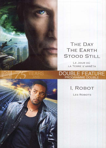 Day The Earth Stood Still (Le Jour Ou La Terre S Arreta) / I, Robot (Bilingual) DVD Movie
