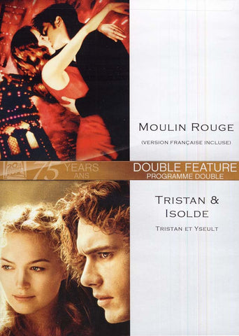 Moulin Rouge (Version Francaise Incluse) / Tristan And Isolde (Tristan et Yseult) (Bilingual) DVD Movie