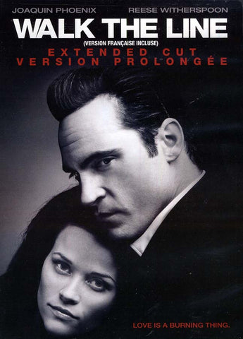 Walk The Line (Extended Cut) (Bilingual) DVD Movie