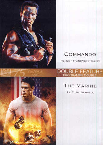 Commando (Version Francaise Incluse) / Marine (Le Fusilier Marin) (Bilingual) DVD Movie