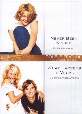 Never Been Kissed (Un Baiser,Enfin) / What Happens In Vegas (Ce Qui Se Passe A Vegas) DVD Movie