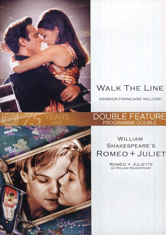Walk The Line /William Shakespear's Romeo And Juliet (Bilingual) DVD Movie