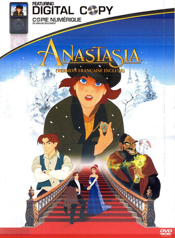 Anastasia (With Digital Copy) (Bilingual) DVD Movie