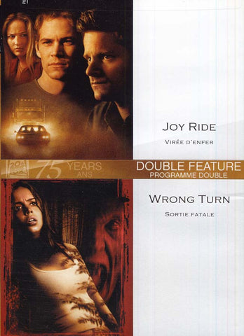 Joy Ride (Viree D Enfer) / Wrong Turn (Sortie Fatale)(bilingual) DVD Movie