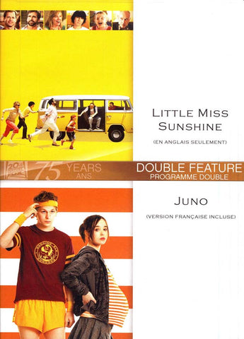 Little Miss Sunshine (En Anglais Seulement) / Juno (Version Francaise Incluse) DVD Movie